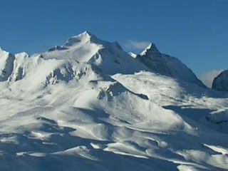 Bilder aus dem letzten Jahr - Val d'Isere im weißen Kleid