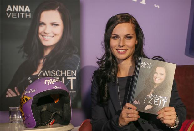© Kraft Foods / ZWISCHENZEIT: Skistar Anna Veith - Ihre Erlebnisse und Erkenntnisse in Buchform