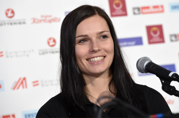 Anna Veith geht im Olympia-Riesenslalom an den Start. (© ÖOC-Medien / Olympia.at)