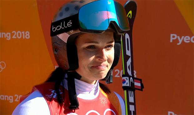 Für Anna Veith gehen die Olympischen Spiele zu Ende