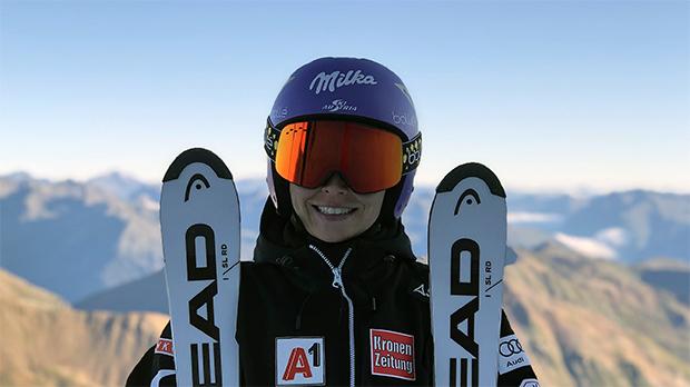 Anna Veith zurück auf Schnee: Erster Schritt zum Comeback gemacht — 2 Skitage am Passo Stelvio