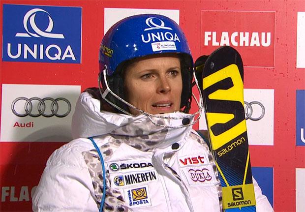 """Velez Zuzulova greift in Flachau nach der Krone der """"snow space princess"""""""
