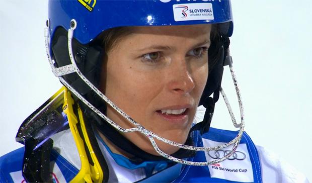 Veronika Velez-Zuzulová bleibt die Slalomkönigin von Flachau