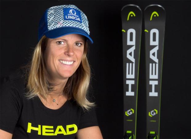 Veronika Velez Zuzulová ist von Kopf bis Fuß auf Head eingestellt (Foto: Head.com)