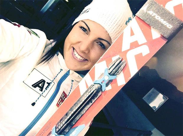 """Bianca Venier im Skiweltcup.TV-Interview: """"Eine Verletzung ist ein Umweg, keine Sackgasse!"""" (Foto: Bianca Venier / privat)"""