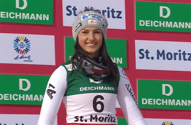 Goldene Auszeichnung für silberne Stephanie Venier