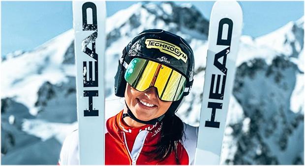 Neo-Head-Athletin Stephanie Venier möchte mit neuem Tatendrang überzeugen (Foto: Stephanie Venier / instagram)