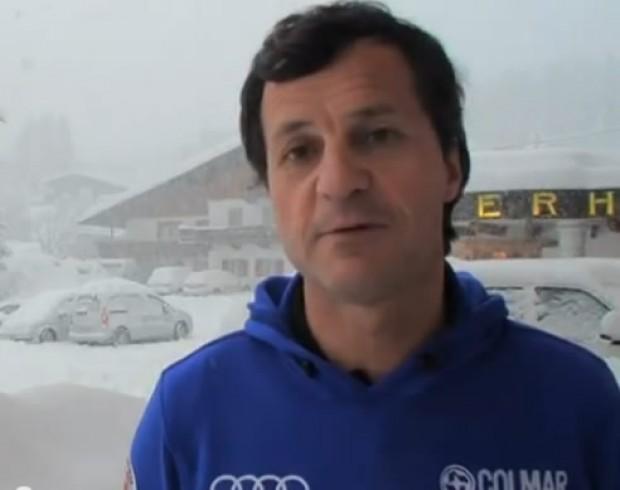 Michel Vion, Präsident der Fédération Française di Ski