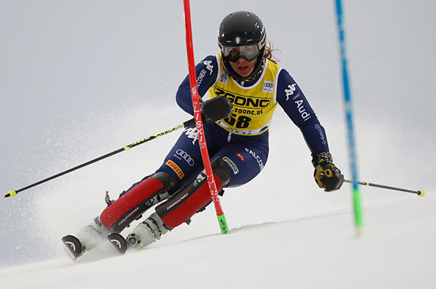 Slalomtalent Serena Viviani trauert um ihren Mentor Sergio Sammartino (Foto: © Archivio FISI/ Pentaphoto)