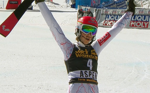 Petra Vlhová schnappt Mikaela Shiffrin Heim-Slalomsieg in Aspen vor der Nase weg
