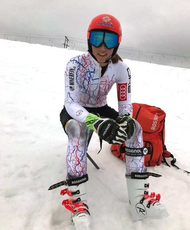 Petra Vlhova setzt auf Reusch (Foto: www.Reusch.com)