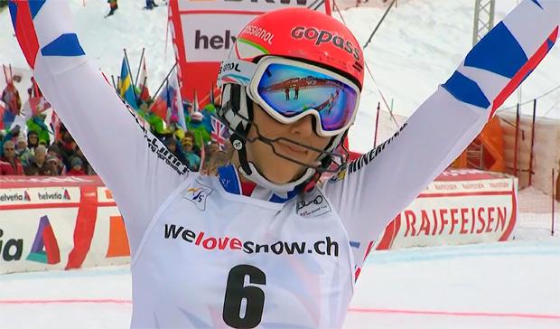 Petra Vlhova gewinnt Slalom von Lenzerheide 2018