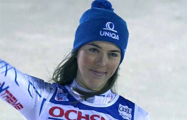 Weltmeisterin Petra Vlhová beim Heim-Europacup-Riesenslalom in Jasná erfolgreich