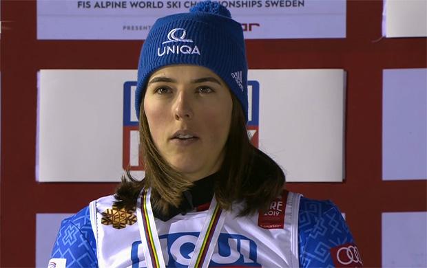 SKI WM 2019: Die neue Riesenslalom-Weltmeisterin von Are heißt Petra Vlhova