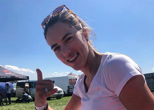 Petra Vlhovà geht beim Halb-Ironman in St. Pölten an den Start (© Petra Vlhovà / Facebook)