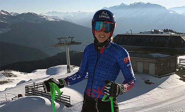 Erstes Skitraining in Südtirol verlief für Petra Vlhova problemlos (Foto © Petra Vlhova / Instagram)