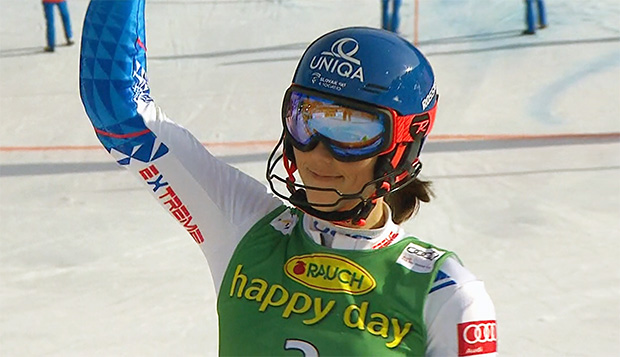 Petra Vlhová absolvierte intensive Trainingseinheiten in der Snow Arena Druskininkai