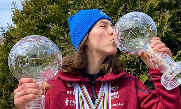 Petra Vlhová bleibt trotz der Coronakrise zuversichtlich (Foto: © Petra Vlhová - Instagram)