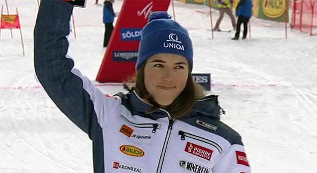 Petra Vlhová brennt auf die nächsten Renneinsätze