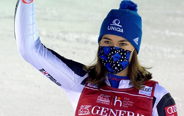 Petra Vlhova gewinnt auch zweiten Slalom von Levi