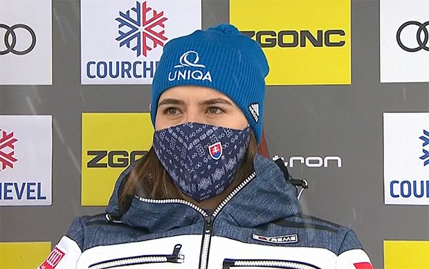 Petra Vlhova übernimmt Führung beim Riesenslalom in Courchevel