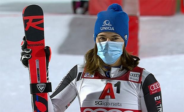 Ski WM 2021: Petra Vlhovás großes Ziel bleibt die große Kristallkugel
