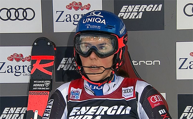 Petra Vlhova übernimmt Führung beim Slalom in Zagreb