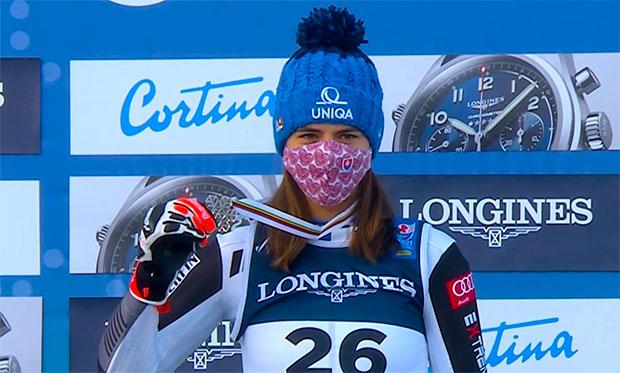 Petra Vlhova geht am Donnerstag beim WM-Riesenslalom als Titelverteidigerin an den Start