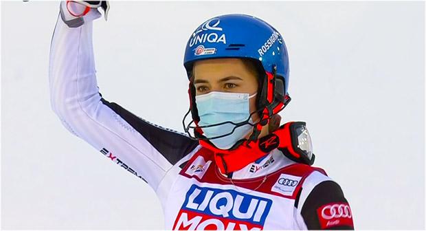 Petra Vlhova gewinnt Slalom von Are am Freitag und übernimmt Gesamtweltcupführung