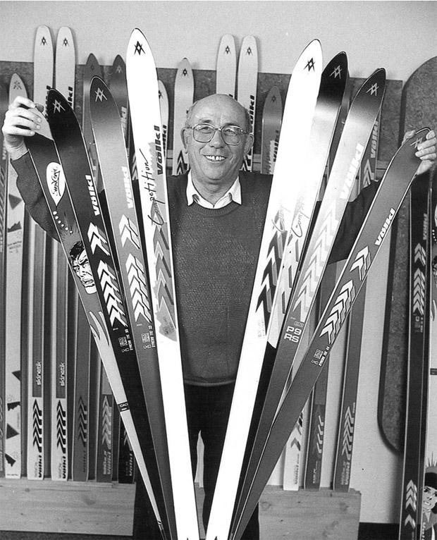 © Völkl.com / Skipionier Franz Völkl im Alter von 87 Jahren gestorben