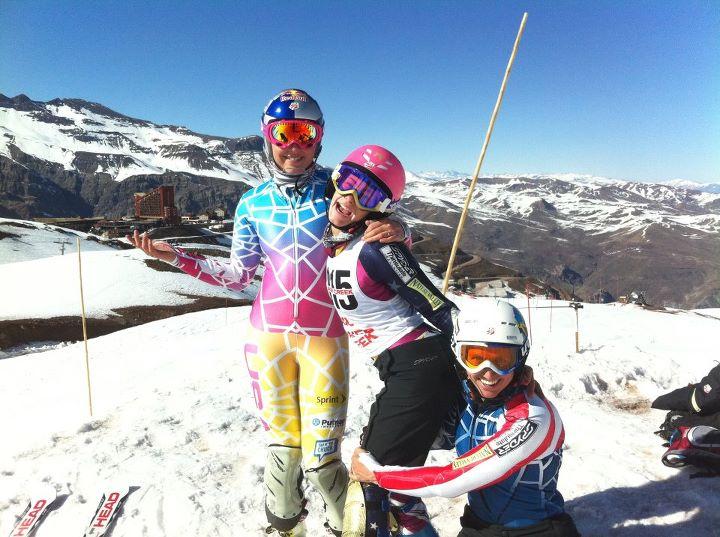 Lindsey Vonn, Resi Stiegler und Hailey Duke - © Lindsey Vonn