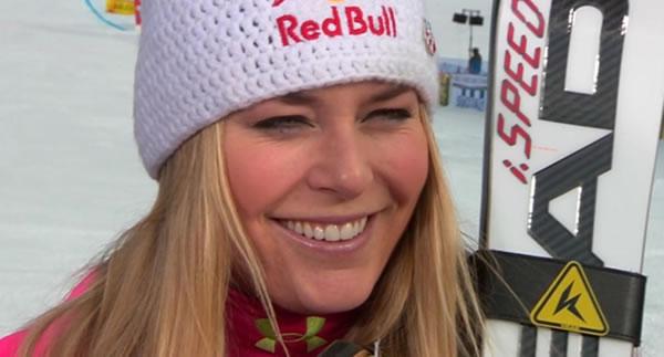 Topfavoritin bei der 2. Abfahrt in Lake Louise: Lindsey Vonn