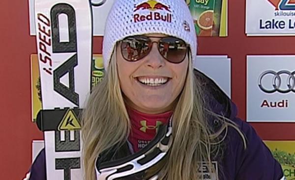3 Rennen - 3 Siege - Lindsey Vonn die Königin von Lake Louise
