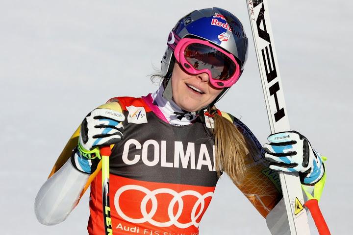 © Gerwig Löffelholz / Lindsey Vonn mit Bestzeit beim Abschlusstraining in St. Moritz