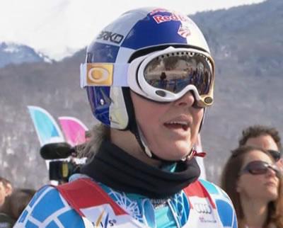 Lindsey Vonn dominiert Abschlusstraining in Sotschi