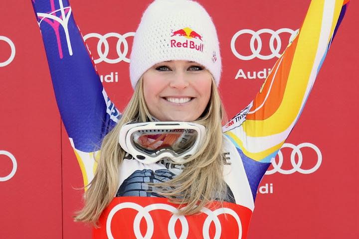 © Gerwig Löffelholz / Lindsey Vonn geht auch in Sotschi als Top Favoritin ins Rennen