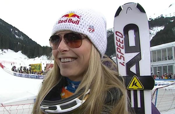 Lindsey Vonn Schnellste im 1. Lake Louise Training