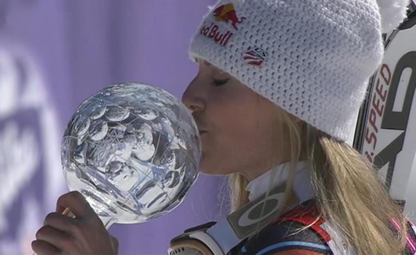 Lindsey Vonn gewinnt Abfahrt in Schladming
