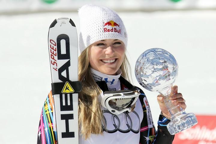 © Gerwig Löffelholz - Gesamtweltcupsiegerin Lindsey Vonn