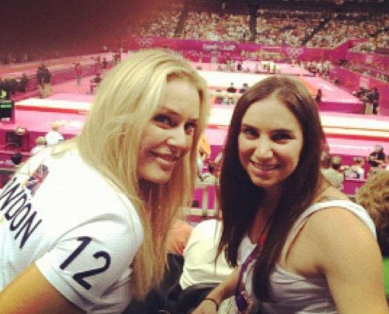 © Lindsey Vonn - Bei den Olympischen Sommerspielen 2012 in London
