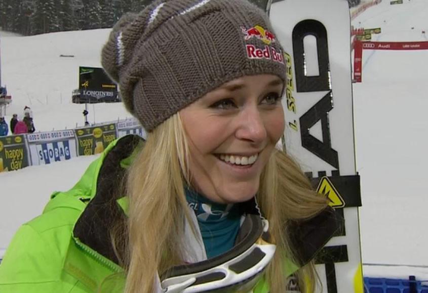 Lindsey Vonn gewinnt Abfahrt in Lake Louise