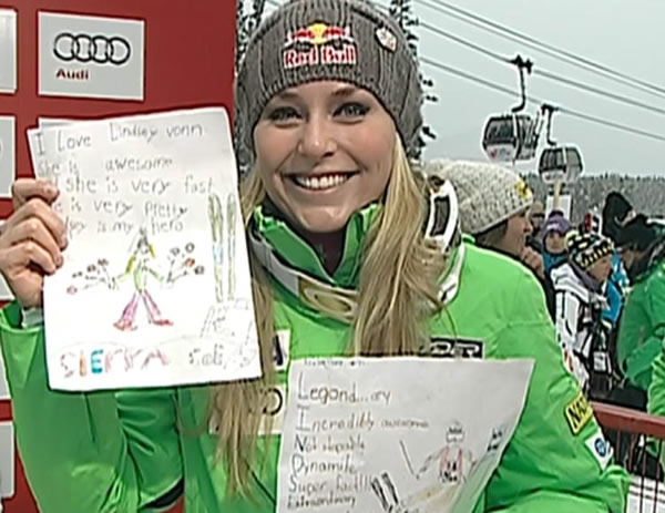 In Lake Louise lieben alle Lindsey Vonn