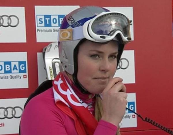 Lindsey Vonn gewinnt Super-G in St. Moritz