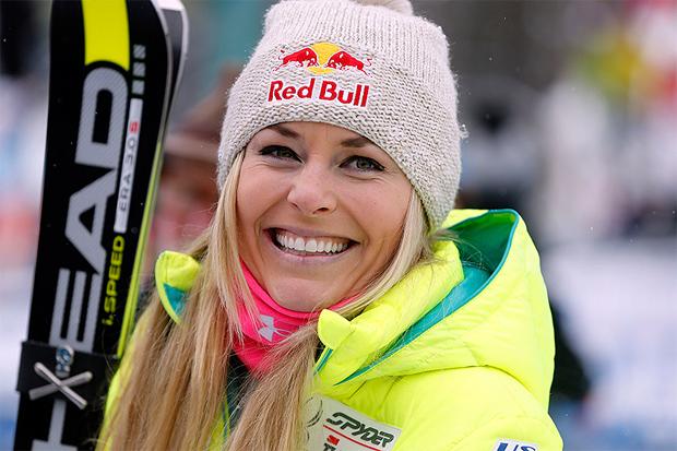 © HEAD /  Lindsey Vonn feiert heute ihren 62. Weltcupsieg, den 32. in einer Abfahrt. In Cortina steht sie zum achten Mal (zum vierten Mal in einer Abfahrt) ganz oben auf dem Podest.