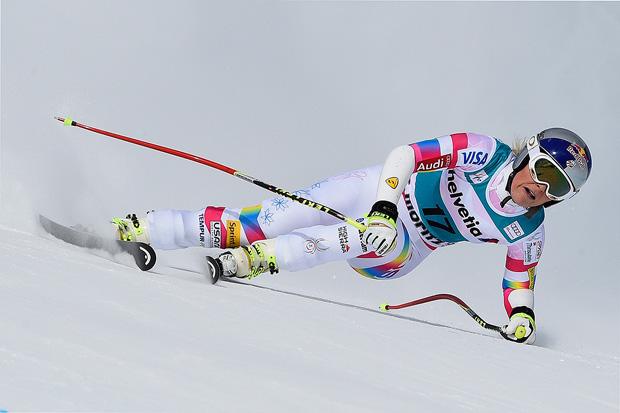 © HEAD / Lindsey Vonn feierte beim Super-G in St. Moritz ihren 64. Weltcup-Sieg.