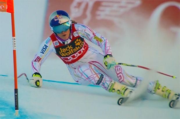 Bestzeit für Lindsey Vonn beim zweiten Training in Val d'Isère