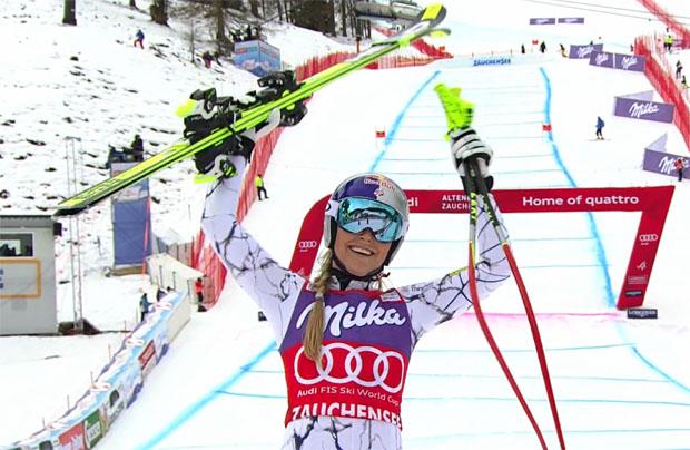 Lindsey Vonn gewann im Vorjahr die Sprintabfahrt und den Super- G in Zauchensee