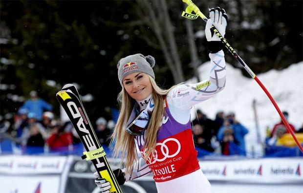 © LaThuile Audi FIS Ski World Cup / Lindsey Vonn ist noch ohne Sieg beim Speedwochenende in La Thulie