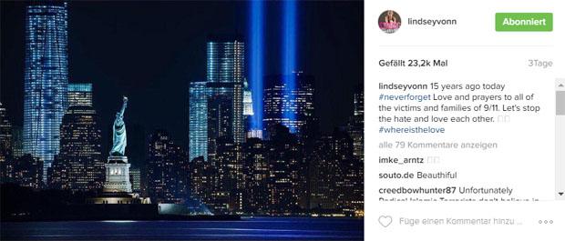 Screenshot instagram / Lindsey Vonn