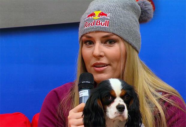 Lindsey Vonn  spricht auf Servus TV über ihre Vorbereitung auf die neue Saison.